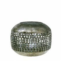 Lanterna Orient aspetto antico Ø18cm H14cm