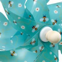 Girandola api turchese Ø31cm campanelli eolici decorazione del giardino del mulino a vento