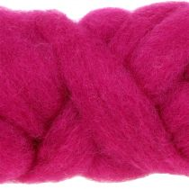 Tappeto di lana 10m rosa