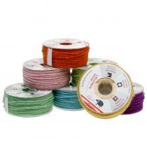 Corda di lana colorata 3mm 100m