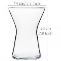 Vaso X-glass trasparente Ø14cm H19cm