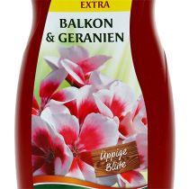 Fertilizzante per piante da balcone Chrysal e fertilizzante al geranio (1,2 l)