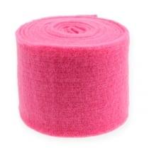 Nastro in feltro rosa 15 cm 5 m