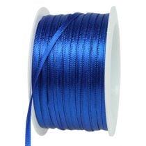 Nastro regalo blu 3mm 50m