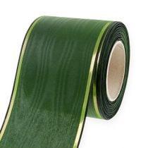 Nastro per ghirlande verde scuro 75mm 25m