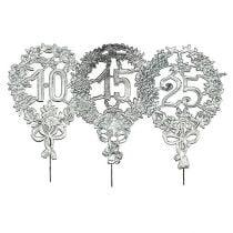 Numeri anniversario argento