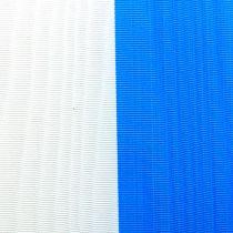 Nastri a corona moiré blu-bianchi