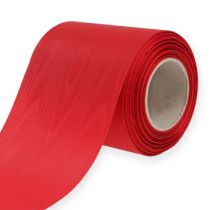 Nastro per ghirlande rosso 100mm 25m