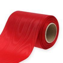Nastro per ghirlande rosso 125mm 25m