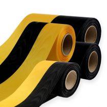 Nastri a corona Moiré giallo-nero