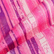 Polsino di carta 25 cm 100 m rosa, rosa