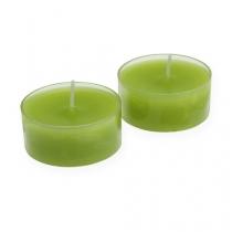 Maxi luci verde Ø5,7cm 4 pezzi