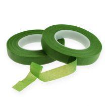 Nastro per fiori OASIS® verde chiaro 13mm 2 pezzi