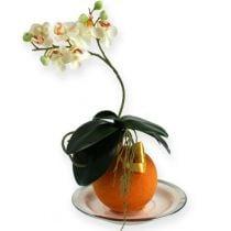 Palline di schiuma arancione 9 cm 4 pezzi