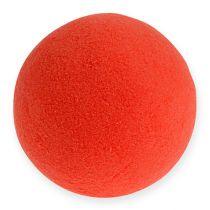 Palline di schiuma rosse 9 cm 4 pezzi