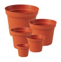 Vaso per piante inserto in plastica vaso interno in terracotta Ø 11 - 29cm, 1pce