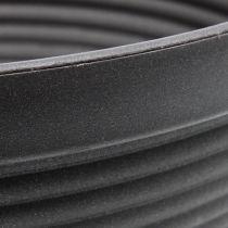 R-shell plastica antracite Ø13cm - 19cm 10pz