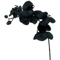 Orchidea da decorare nera 54cm