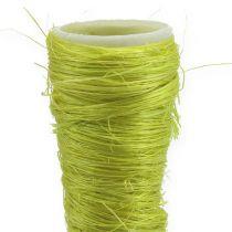 Imbuto sisal verde chiaro Ø3cm L30cm 12pz