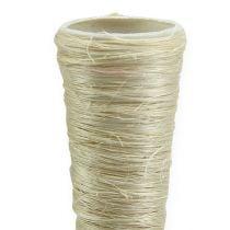 Vaso a punta di sisal sbiancato Ø2,5 cm L30 cm 12 pezzi