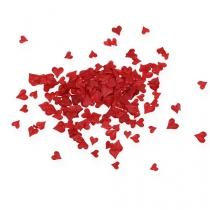 Cospargere cuori decorativi rossi 5-8mm 1000p