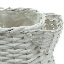 Fioriera Willow Bianco Ø13cm H22cm