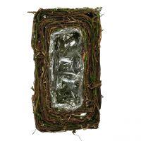 Fioriera per la tomba 16,5 cm x 29 cm 1 pz