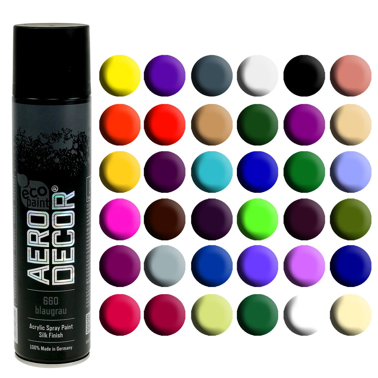 Spruzzo di colore opaco opaco vari colori 400ml
