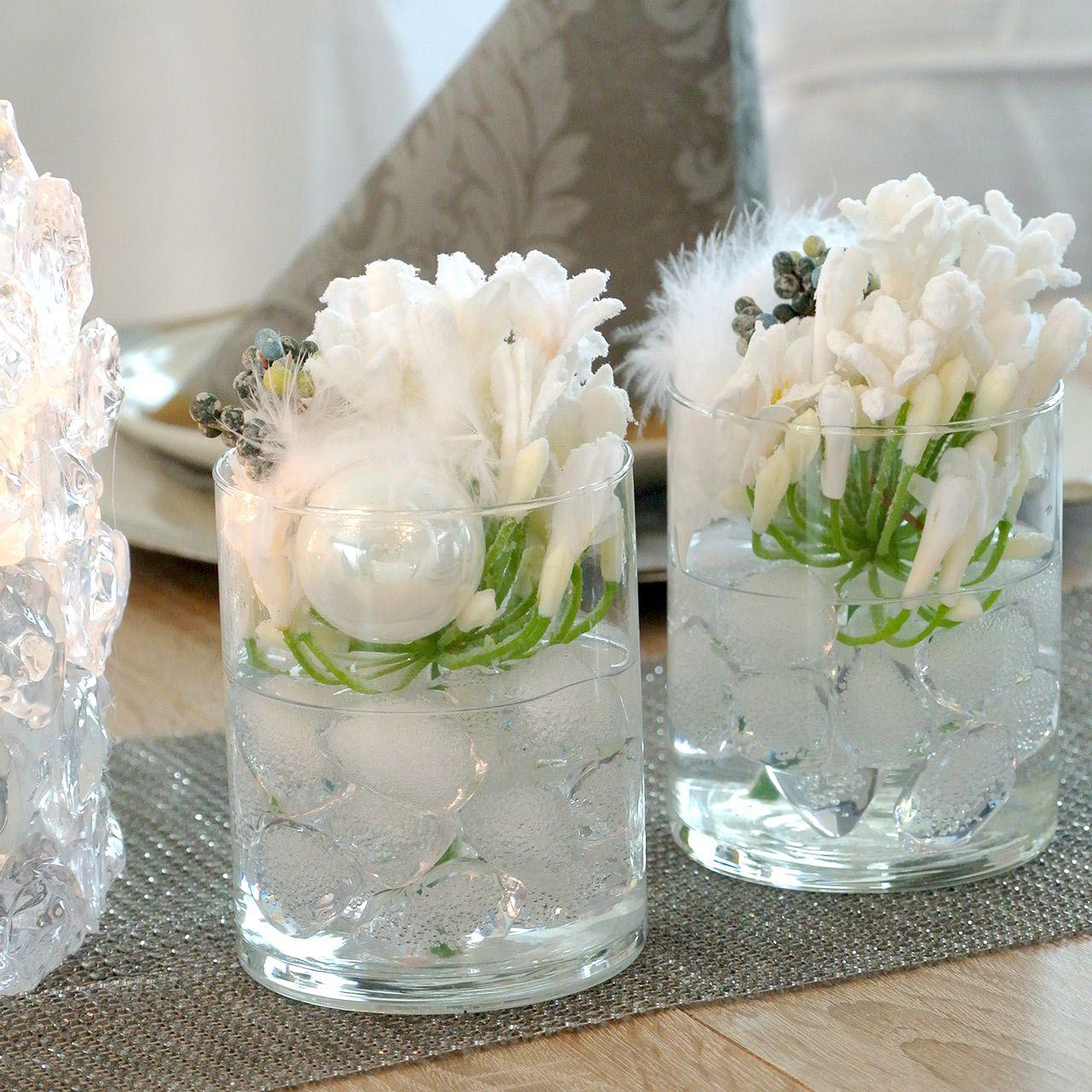 Cubetto di ghiaccio decorativo galleggiante 2,5 cm - 4 cm 500 g