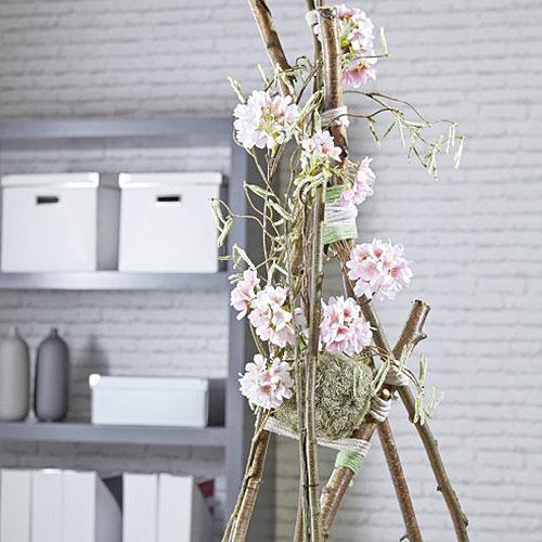 Sfera floreale in schiuma Ø20cm