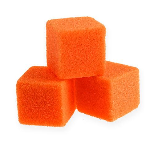 Mini-cubo di schiuma umida arancione 300 pezzi