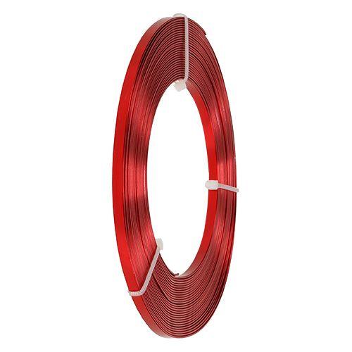 Filo piatto di alluminio rosso 5mm 10m
