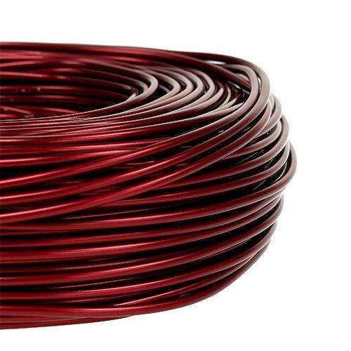 Filo di alluminio Ø2mm 500g 60m Bordeaux