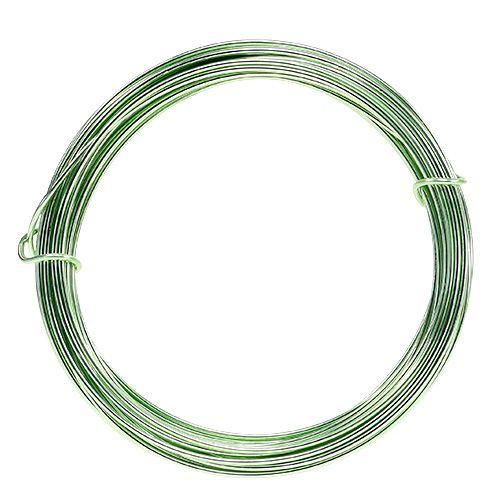 Filo di alluminio 2mm 100g verde menta
