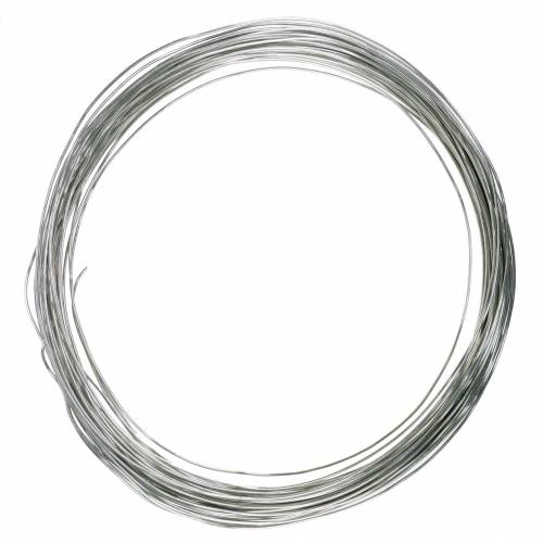 Filo di alluminio Ø3mm argento 1kg