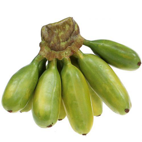 Baby banane verdi artificiali perenni 13cm