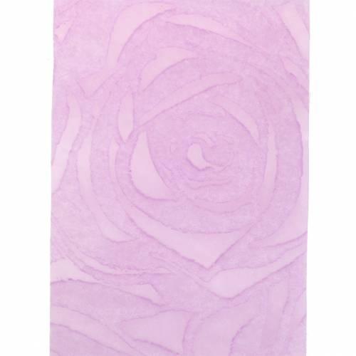 Nastro regalo per la decorazione rose largo Purple 63mm 20m