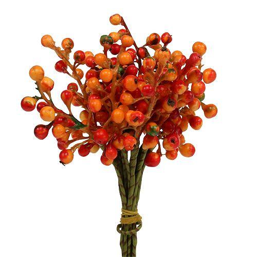 Mazzo di bacche arancione L20cm