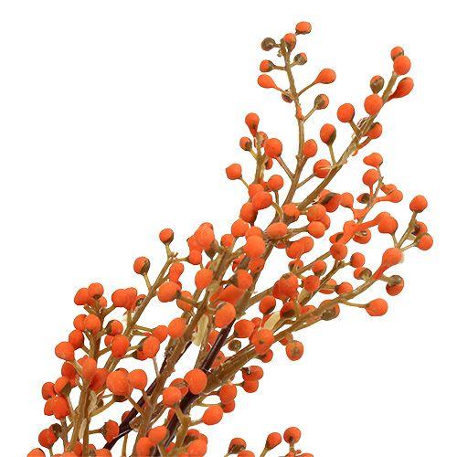 Ramo di bacche arancione L48cm 1pz