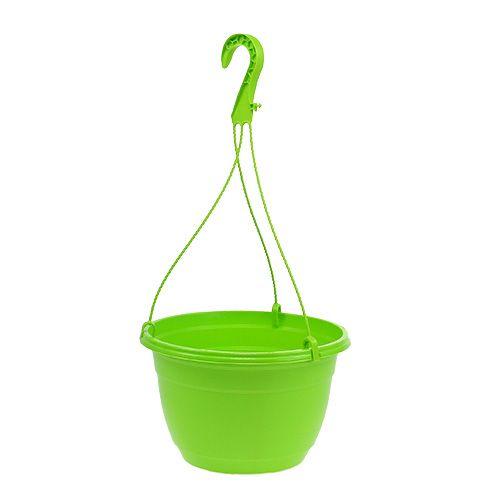 Cestino da appendere 25 cm verde