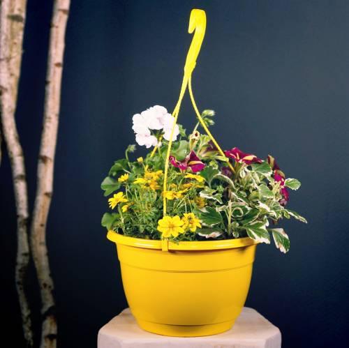 Cesto di fiori 25 cm lilla
