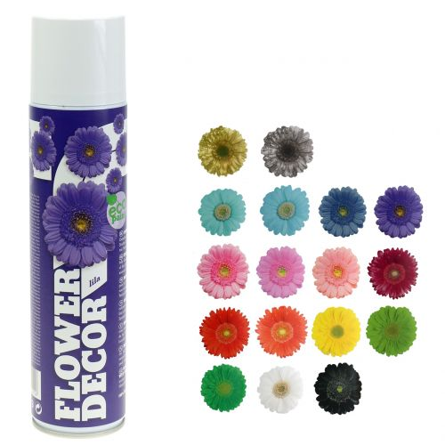 Spray floreale decoro floreale vari colori 400ml