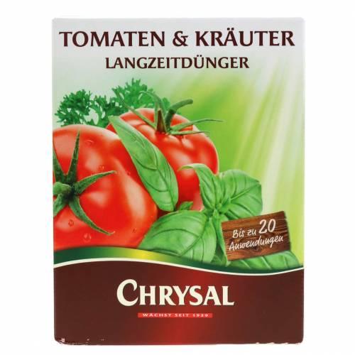 Pomodori Chrysal, erbe come fertilizzante a lungo termine 300g