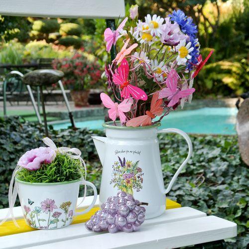 Vaso per piante Deko smaltato Ø11,5cm H10cm