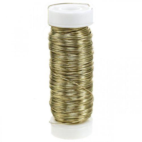 Filo smaltato decorativo Ø0,30 mm 30 g / 50 m oro