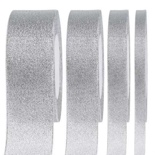 Fascia decorativa argento di diverse larghezze 22,5m