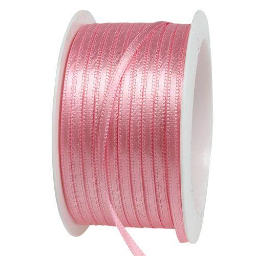 Nastro regalo e decorazione 3mm x 50m rosa pastello