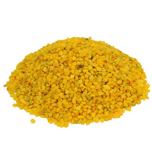Granulato decorativo giallo 2mm - 3mm 2kg
