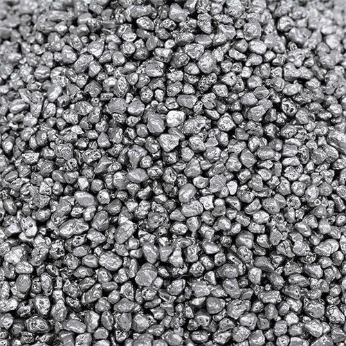 Granulato decorativo argento 2mm - 3mm 2kg