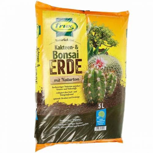 FRUX terriccio per cactus e terriccio per bonsai 5L